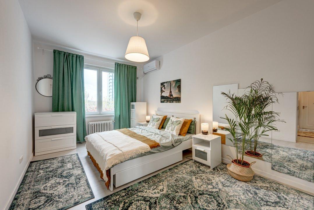 Calea Floreasca ,apartament mobilat si utilat nou, etaj 2/3